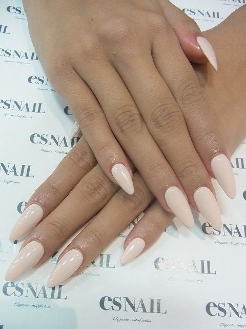 Kinda like the pointed nail trend...