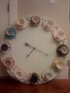 Cup & Saucer Clock diy!