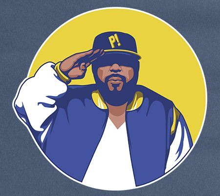 A hip-hop shirt inspired by Sean Price of Heltah Skeltah and the Boot Camp Clik.  Available until October 5th at www.mymainmanpat.com #SeanPrice #SeanP #HeltahSkeltah #Phile #MyMainManPat #MMMP #Barbarian #MicTyson #RealRap #BCC #BootCampClik