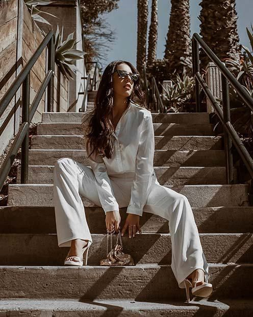 23 Stunning All-White Party Outfits - crazyforus af9f77438