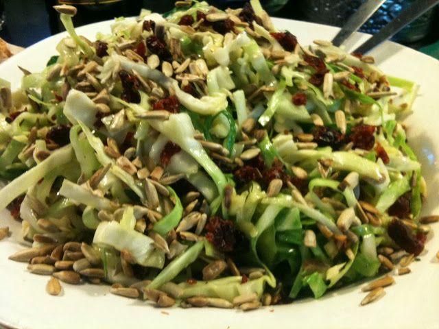 SablesMad: Spidskål salat