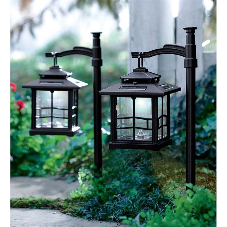 LED Shepherds Hook Solar Lantern | Lighting | Plow U0026 Hearth