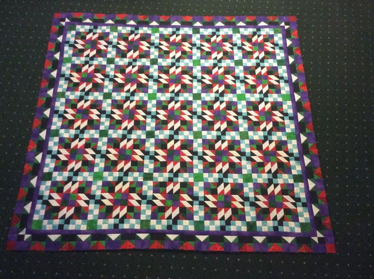 Grand Illusion - Bonnie Hunter's Mystery Quilt 2014