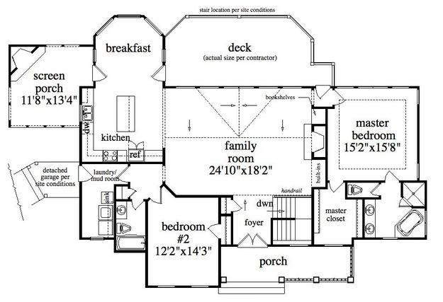House plan 957 00004 lake front plan 2 924 square feet for 2 bedroom lake house plans