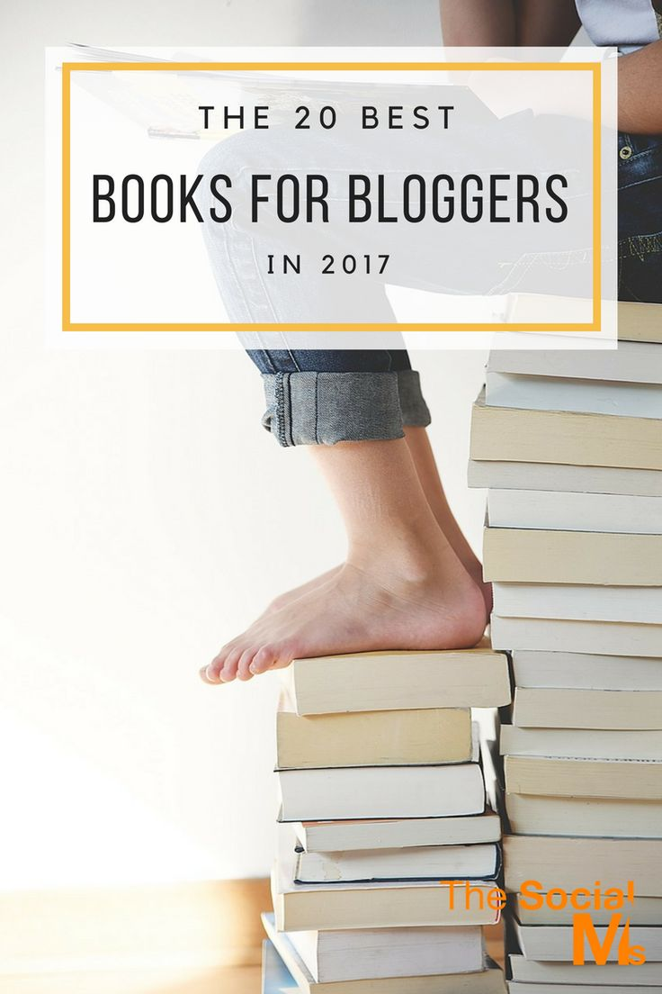 The best books for bloggers that we found helpful and entertaining. These are the best books to get you started with blogging and on the track to success. blogging tips, how to start a blog, blog marketing, blog traffic #bloggingtips #blogstrategy #startablog #bloggingforbeginners
