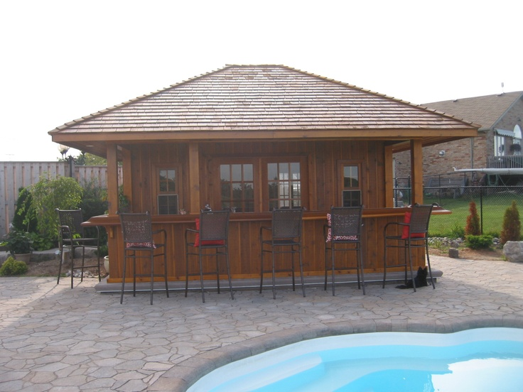 1000 Images About Pool Cabanas And Pool Houses On