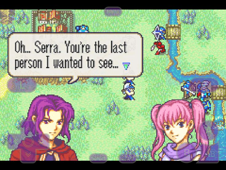 I found this gem of a conversation in Fire Emblem while playing it on GBA4iOS. Too funny not to post.