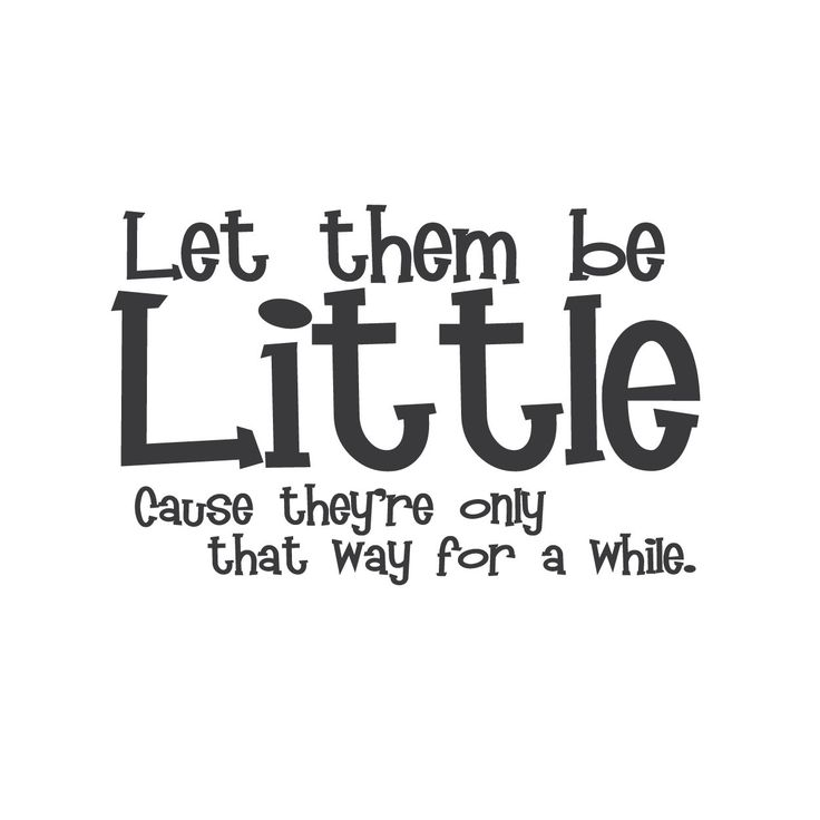 Wall quotes wall decals let them be little