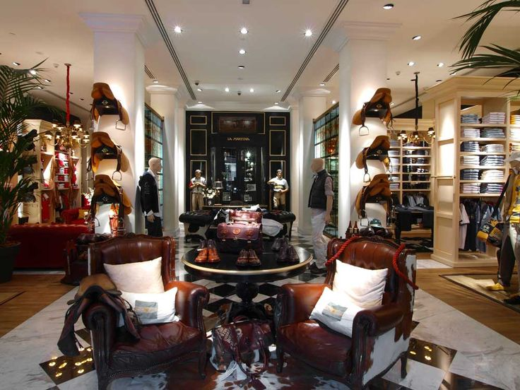 Passion for polo is clear in every store from La Martina.