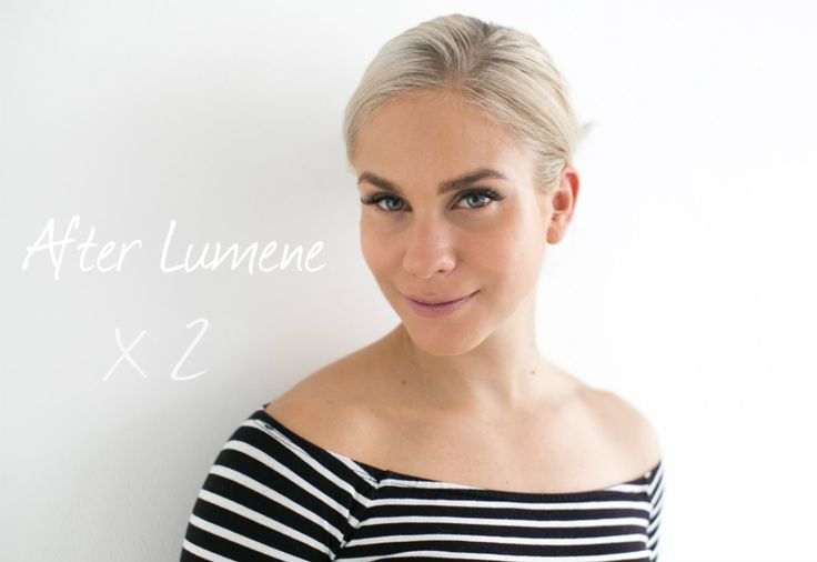 Blogger Eevi only used two products for this natural and easy-going look - Lumene Nude Perfection Glow Foundation and Eyebrow shaping wax! #foundation #lumene