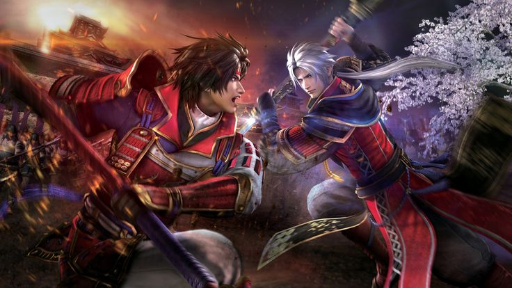 Samurai Warriors 4 Game Wallpaper - http://www.cartoonography.com/5055-samurai-warriors-4-game-wallpaper.html