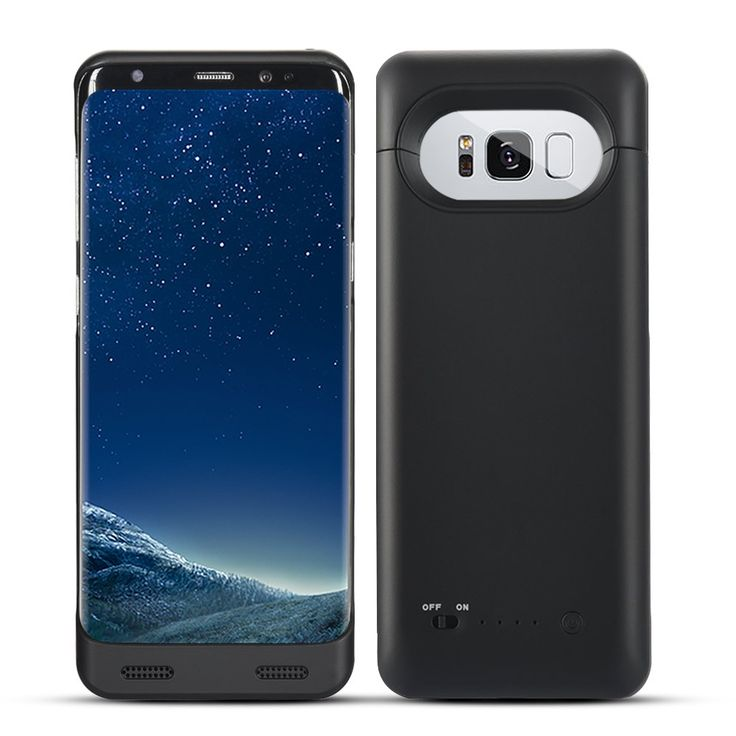 Galaxy S8 Battery Case, Maxdara Portable Charging Battery [5000 mAh] High Capacity Fast Charger [Quick Charge Compatible] [ Data Sync-Through] External Battery juice Pack for Galaxy S8 5.8 inch(Black). [ONLY Fit for Galaxy S8 5.8 inch not 6.2inch]:High capacity Power Bank charger provides up to 160%+ extra battery to your galaxy S8 5.8 inch. Enhance talk time, audio playback, video playback, Internet usage. [Fast charger and Full-body bumper Protective]: This battery juice pack support…