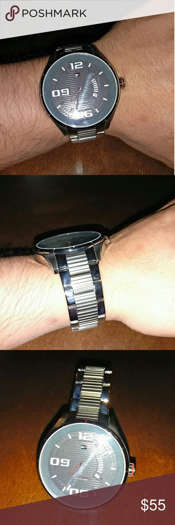 Tommy Hilfiger Watch Men's Watch. Excelent condition. New battery Tommy Hilfiger Accessories Watches
