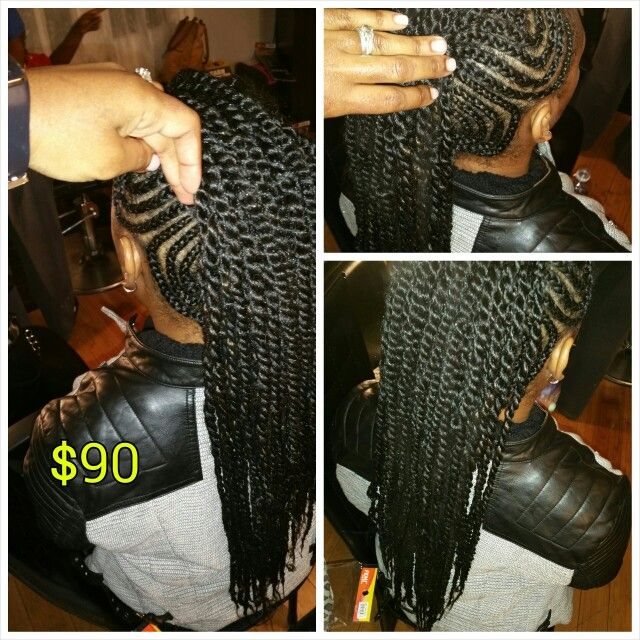 Crochet Braids New Orleans : Mohawk by me 4 bags of Marley hair @nolabraider Nolabraider styles ...