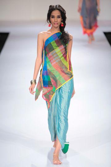 Mayank Anand Shraddha Nigam - Lakme Fashion Week Winter/Festive 2012