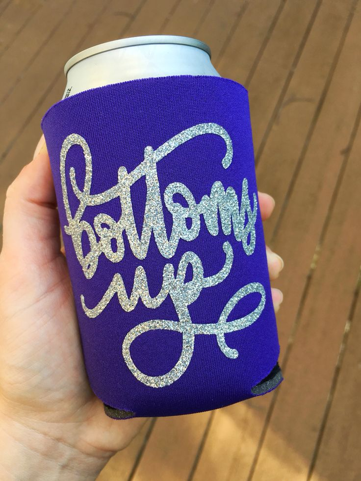 Glitter koozie! Perfect for summer! On sale now!
