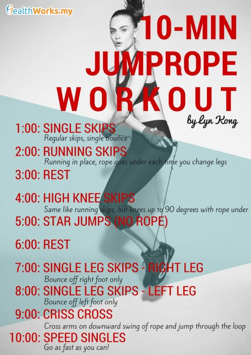 jump rope workout 1