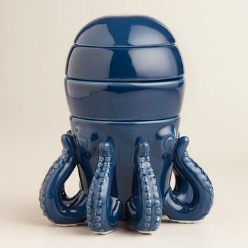 Octopus Ceramic Measuring Cups