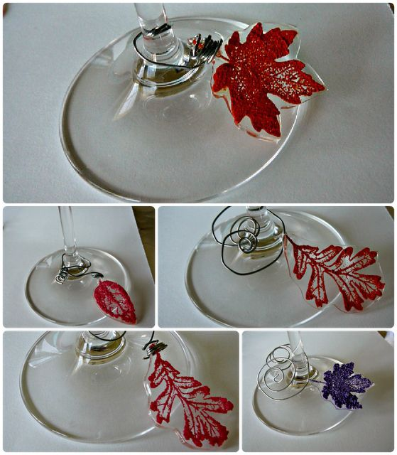 Best 25 fall wine glasses ideas on pinterest painting for Martha stewart christmas wine glasses