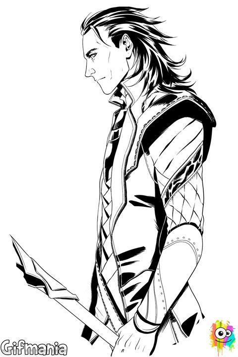 Loki el hermanastro de Thor llega