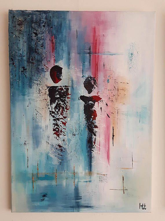 Abstract figuratief schilderij 'Verschijning'