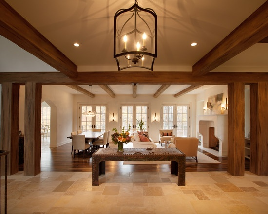 Interior Wood Columns And Beams Design Pictures Remodel