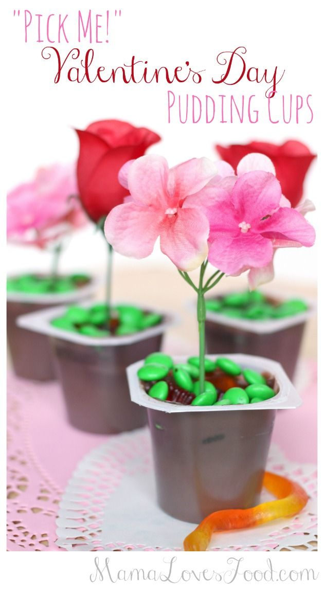 52 best Valentine\'s Day Recipes images on Pinterest | Pudding cups ...