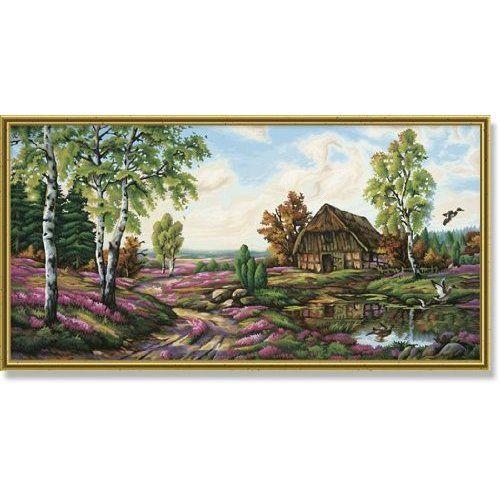 Schipper 9220 368   Malen nach Zahlen Heidelandschaft, 40x80cm