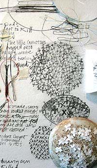 """""""Cluster"""" Anti-War Medal (detail) Artist: Helen Carnac"""