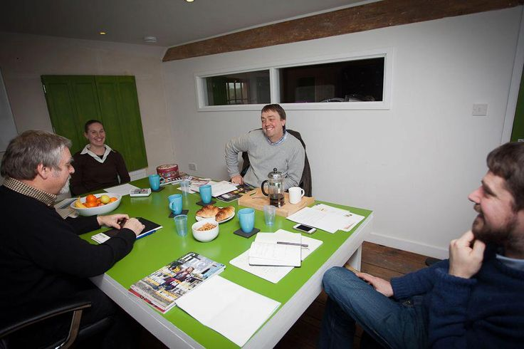 #Nutshell meetings are always productive. We have #Croissants! #Construction #Team #Sussex