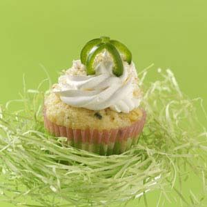 Jalapeno Popper Corn Cupcakes Recipe (taste of Home). Cream cheese frosting may seem like an unlikely partner for a jalapeno and cornmeal cupcake, but our home economists guarantee the treats are sure to please!