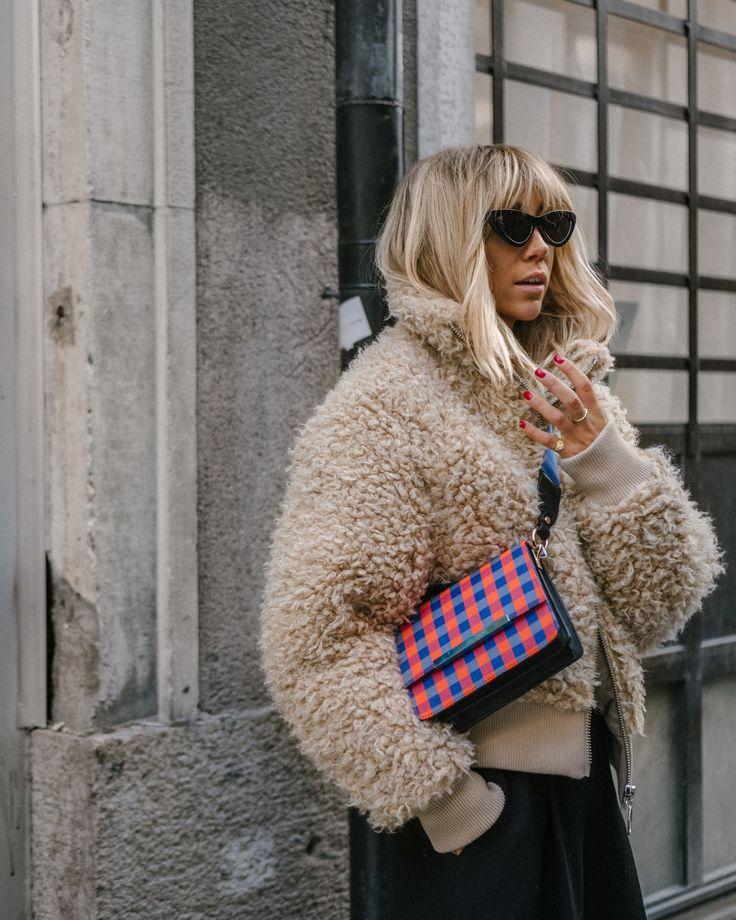lisa olsson teddy jacket cat eye sunglasses