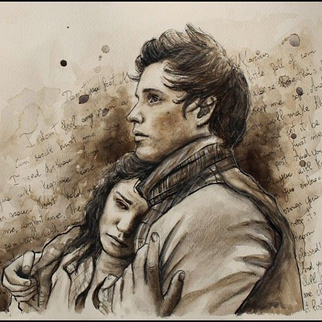Les Miserables art. I totally think Marius and Eponine should have ended up together!!!