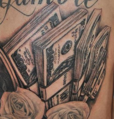 money tattoos 47                                                                                                                                                                                 More