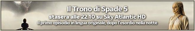 Insaziabili Letture: Arriva la 5^ stagione di IL TRONO DI SPADE!