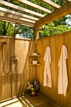 #homeideas #patioideas #outdoorshower #backyards
