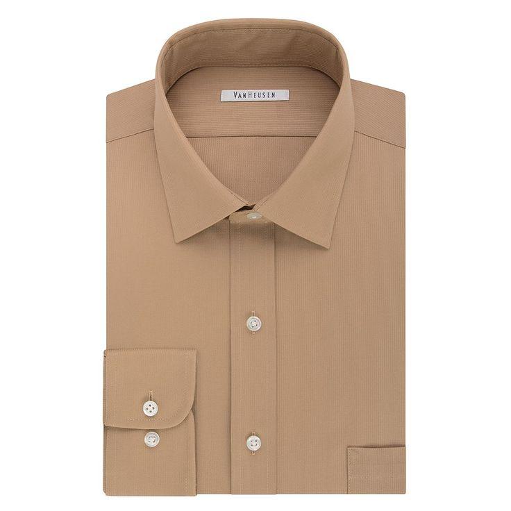 Best 20 men 39 s dress shirts ideas on pinterest for Van heusen men s regular fit pincord dress shirt