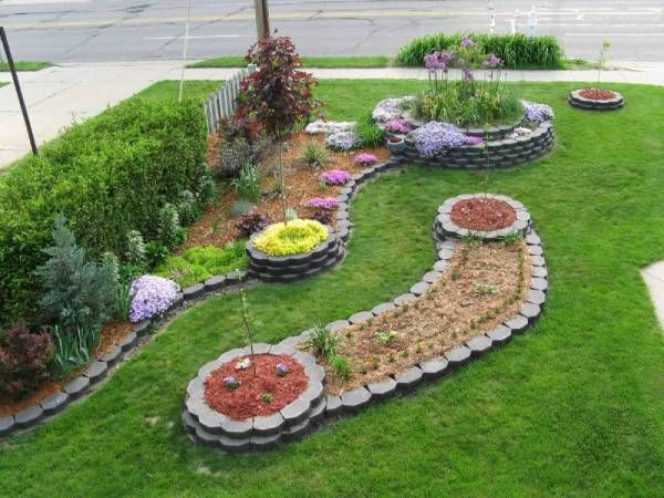 front yard landscaping with river rocks diy tips cost flowers small yards