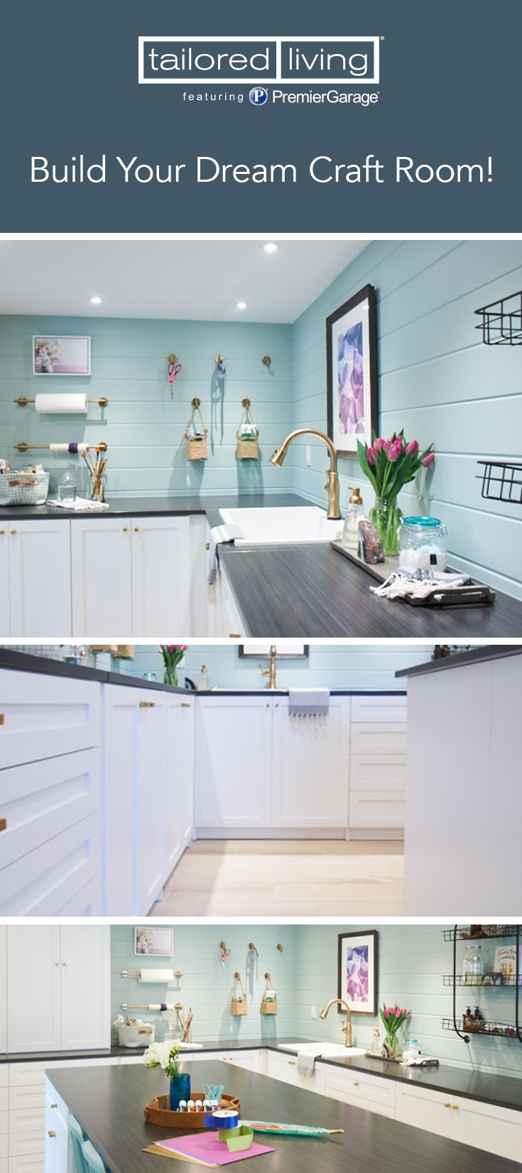 Create Your Ultimate Craft Room Request A Free In Home Consultation