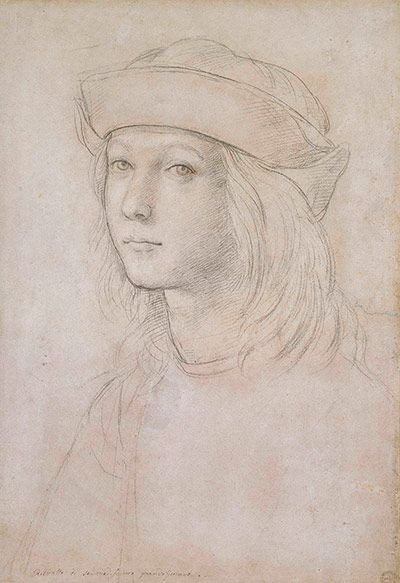 Old master drawings: Raphael (1483-1520), Self Portrait