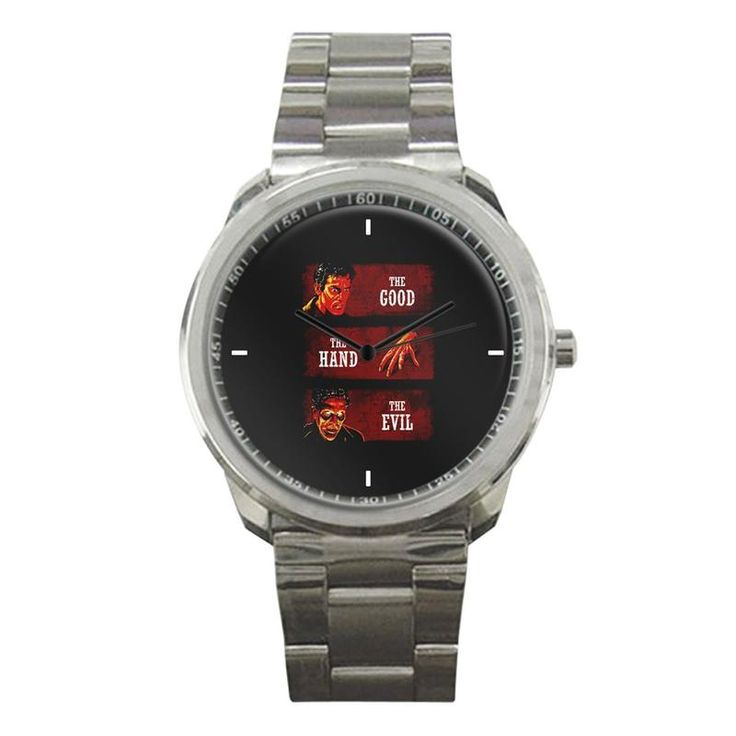ASH VS EVIL DEAD THE GOOD THE HAND THE EVIL NEW SPORT METAL WATCH   #sport,#metal,#watch