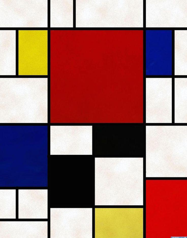 Image result for μοντριαν