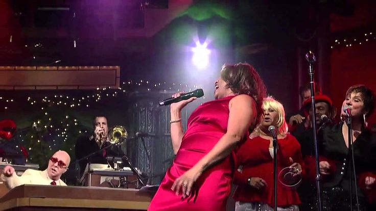 Darlene Love 2011 25th Anniv Christmas (Baby, Please Come Home) The Late...