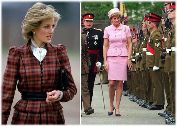 Принцесса Диана любила угодить своими нарядами