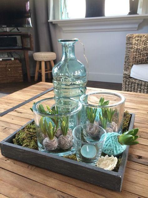 La période de fête est à nouveau finie… mais comment dois-je décorer ma maison maintenant ? Achetez quelques oignons à fleurs ! 8 idées de bricolage ! - DIY Idees Creatives