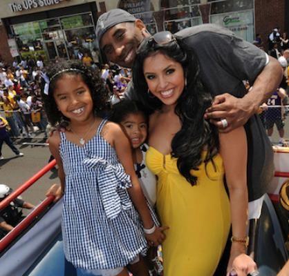 Familia - Kobe, Vanessa, Gianna, and Natalia Bryant