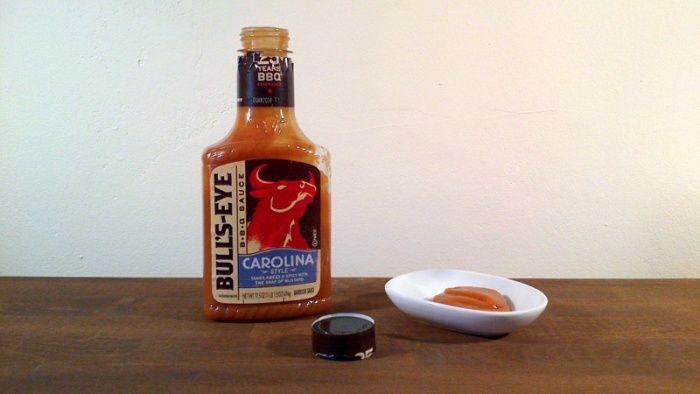 This is officially my favorite bbq sauce!  #BullsEye #Carolina #BBQ #Sauce