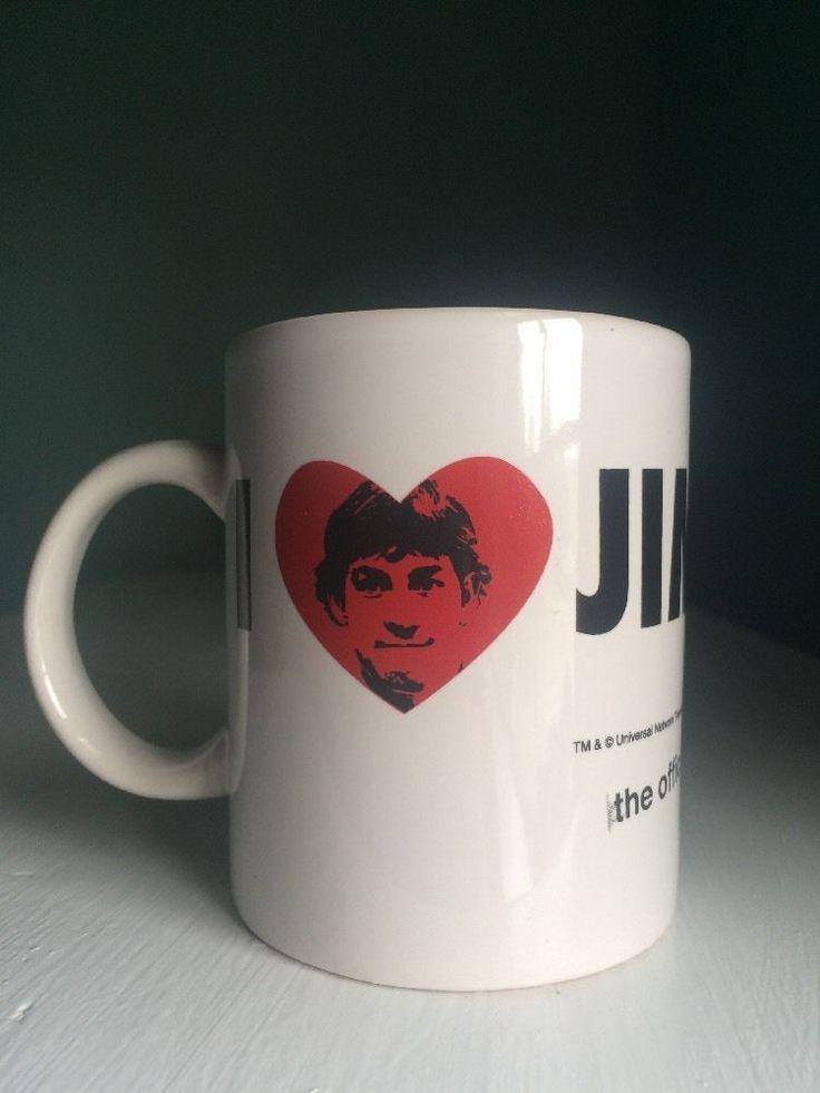 I Love Jim The Office Coffee Mug TV NBC Series Cup  | eBay