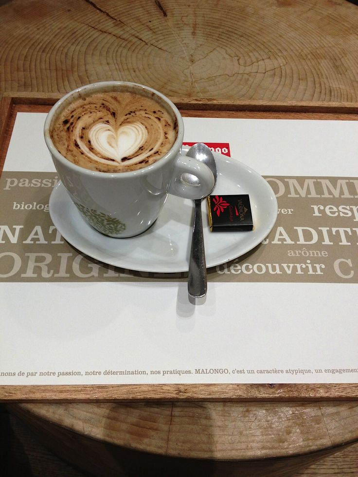 Paris, France: Favorite cappuccino at Malongo (6th). (Photo by Carol Estes)