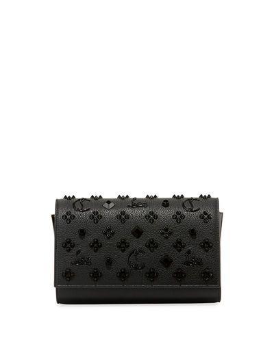 8e5cec7f5cbe Paloma Fold-Over Embellished Clutch Bag